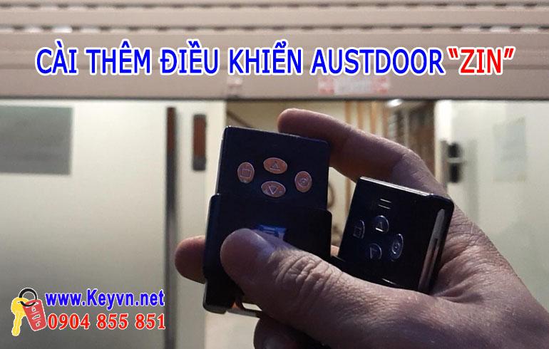 Cài điều khiển cửa cuốn Austdoor